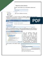 Reporte de active directory
