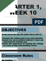 QUARTER 1^J WEEK 10 developmental