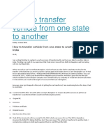 How to transfer vehicle from one state to another[385]