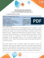 English - Syllabus del curso Prospectiva Estrategica