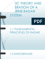 BASIC THEORY AND OPERATION OF A MARINE RADAR