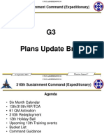 310th ESC Plans Brief