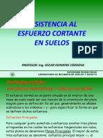 TEMA 4 RESISTENCIA AL ESFUERZO CORTANTE