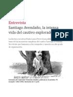 La intensa vida del cautivo explorador REVISTA Ñ, por Héctor Pavón