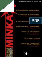 Revista Minka, No. 1