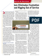 """FIRST Sling ID System Eliminates Frustration of Pulling Good Rigging Out of Service"" - Crane Hotline (Aug 07) - p. 94"