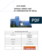 ICICI BANK the Project