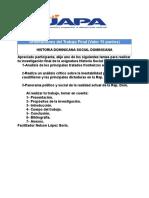 Orientaciones del Trabajo Final-Historia Social Dominicana. (1)