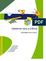 Brochura  Despertar para as Ciências dos 3 aos 5