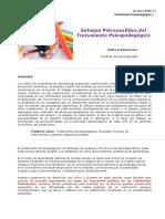 Schlemenson-Enfoque psicoanalítico del tratamiento psicopedagógico