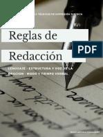 11. REGLAS DE REDACCIÓN DE LOS ARTÍCULOS
