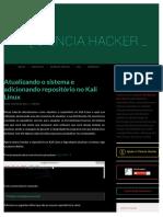 Atualizando o sistema e adicionando repositório no Kali Linux.pdf