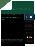 Camuflando o Mac Address no Linux