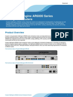 Huawei NetEngine AR6000 Series Enterprise Routers Datasheet