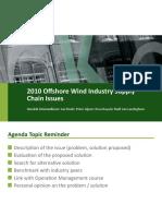 20101118 O&SCM Offshore Wind Industrie