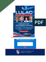 Klobuchar Sanders Buttigieg Steyer at LULAC Presidential Town Hall - RSVP Today