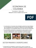 LA ECONOMIA DE COLOMBIA GRADO 5TO. 2013 -graficas