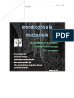 Primera lectura (introducción a la psicología, Gutiérrez)