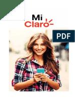 (PERSONAS)-MANUAL DE USUARIO MI CLARO APP