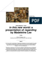 in this new world - e-flyer