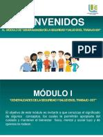 Modulo I. Generalidades de la Seguridad y Salud en el Trabajo