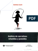 331406990 Analisis de Narrativas Infantiles y Juveniles de Gemma Lluch