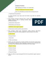 Kisi-kisi Tentang Manajemen Perubahan