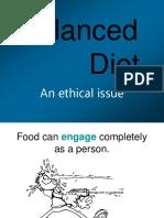 2. Balanced Diet