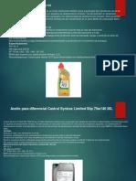 aceites para diferencial