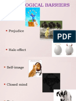 Psycological Barriers