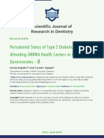 Scientific Journal of Research in Dentistry