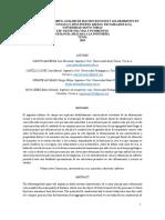 ANALISIS DE MACISOS ROCOSOS Y AFLORAMIENTO EN LA VEREDA TOCOGUA Y SITIO PUERTO AREPAS- DUITAMA (BOYACÁ) FINAL