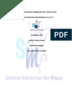 MANUAL DE PROCESOS DEL ÁREA ADMINISTRATIVA DE LA EMPRESA SAN MIGUEL.docx