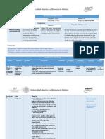 Planeación Didactica U3 dibujo