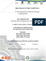 CARPETA DE EVIDENCIA_U1_COMERZIALIZACION Y DIFUSION TURISTICA