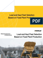 Load and Haul Fleet Selection Based on Fixed Plant Production.ppt