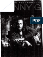 Kenny G - Easy Solos for Saxophone Songbook)