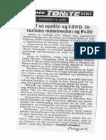 Abante Tonite, Feb. 13, 2020, DOT sa epekto ng COVID-19 Tourismo mawawalan ng P40B.pdf