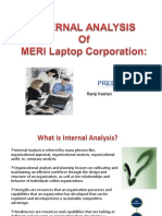 Internal Analysis of Meri Laptop