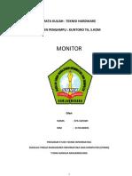 Jenis - jenis Monitor