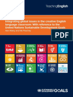 Integrating Global Issues in the creative language classroom