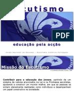 Escutismo-EDUCAÇÃOpelaACÇÃO.ppsx