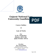 Law of Torts-Ms. Tania S. & Ms. Garima G
