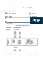 Product Safety Data Sheet - D0203233 (3)