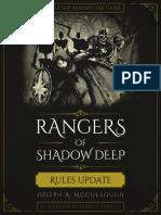 Rangers of Shadow Deep - Rules Update