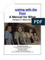Bihar Advocacy Manual English Vesion 7 March 2017