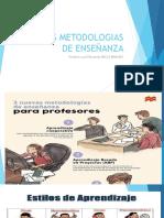 NUEVAS METODOLOGIAS DE ENSEÑANZA
