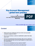 Key Account Management Course Notes