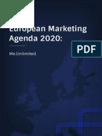 APPM | EMC Marketing Agenda 2020 ME.UNLIMITED.