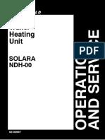 Operation and Service Solara NDH 00